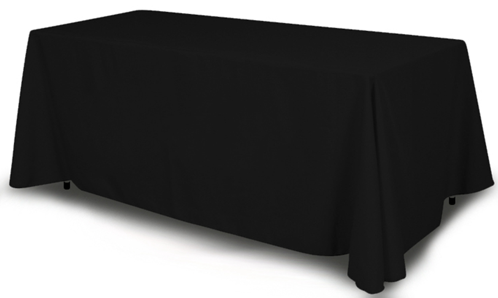 Solid Color Table Throws Assorted Colors Displays For